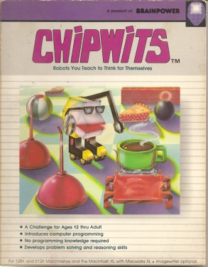 ChipWits cover Brainpower 2 front