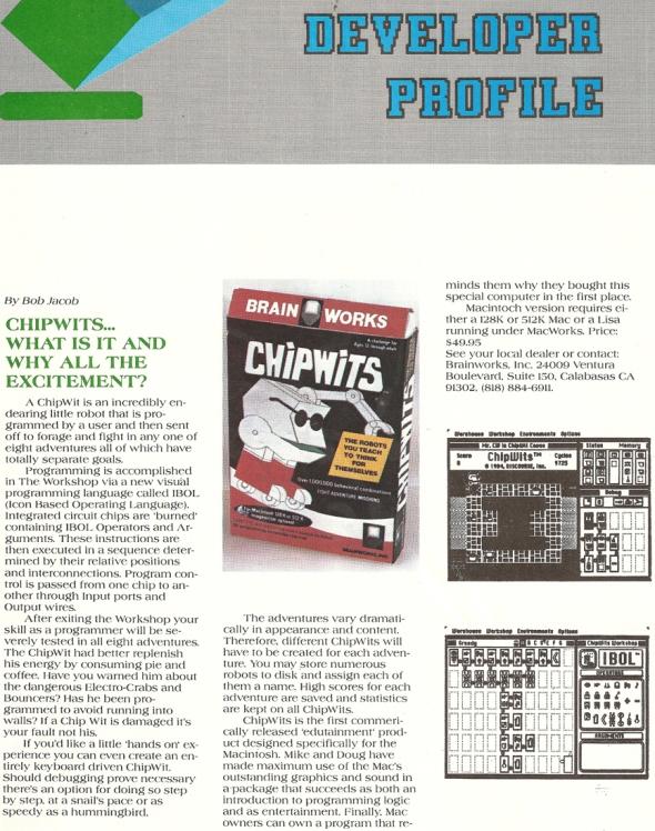ChipWits Macazine p1